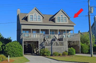 Topsail Beach Condo/Townhouse For Sale: 2121 Inlet Avenue #B