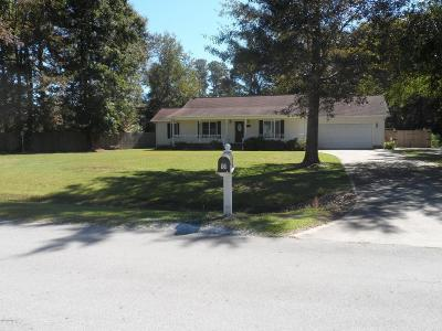Beaufort Single Family Home For Sale: 101 Cupid Drive