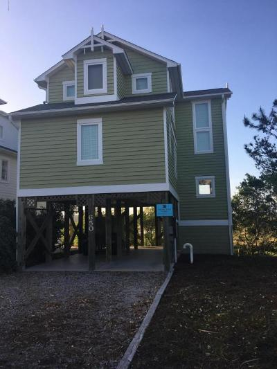 Holden Beach Single Family Home For Sale: 650 Ocean Boulevard W