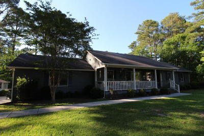 Cape Carteret Single Family Home For Sale: 201 Star Hill Drive