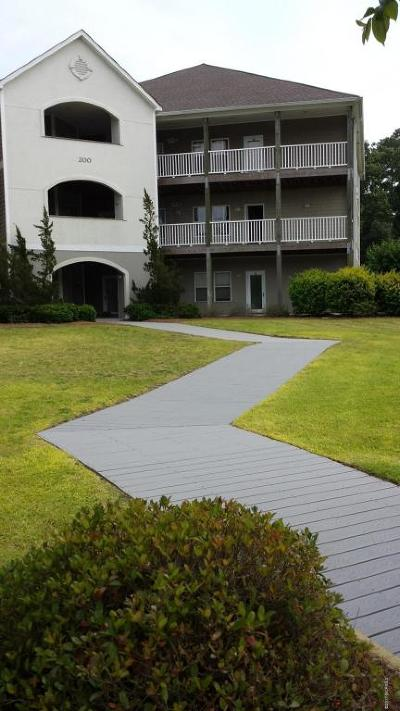 Swansboro Condo/Townhouse Active Contingent: 200 Lighthouse Lane #B2