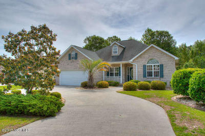Brunswick Plantation Single Family Home For Sale: 9109 Twin Bay Court NW