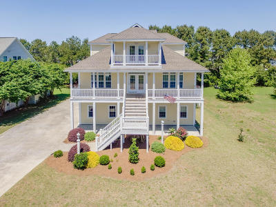 Newport Single Family Home For Sale: 240 Hickory Shores Drive
