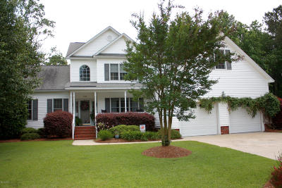 Greenville Single Family Home For Sale: 3402 Grey Fox Trail