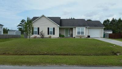 Swansboro Single Family Home For Sale: 101 Ryan Glenn Drive