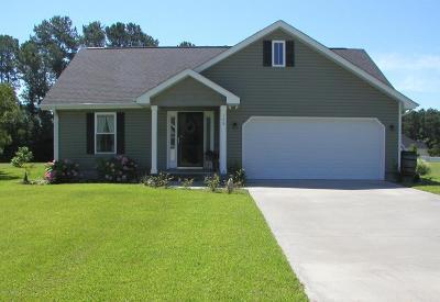 Swansboro Single Family Home For Sale: 109 Holland Farm Road