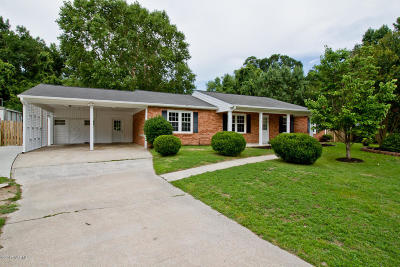 Jacksonville Single Family Home For Sale: 3004 Country Club Road