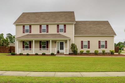 Swansboro Single Family Home For Sale: 120 Cormorant Drive