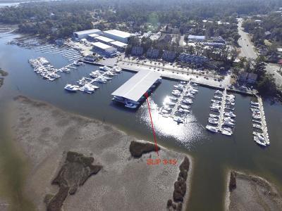 Wilmington Boat Slip For Sale: 6338 Oleander Drive #3-15