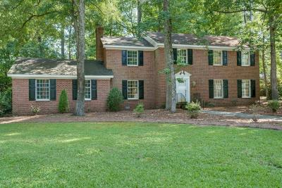 Rocky Mount Single Family Home For Sale: 3801 Hawthorne Road