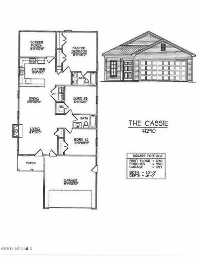Oak Island Single Family Home For Sale: 153 NE 1st Street