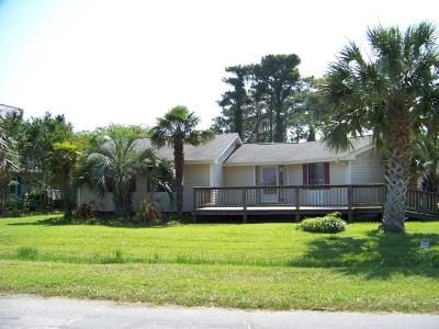 Beaufort NC Single Family Home For Sale: $160,000