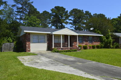 Jacksonville Single Family Home For Sale: 317 Cardinal Road