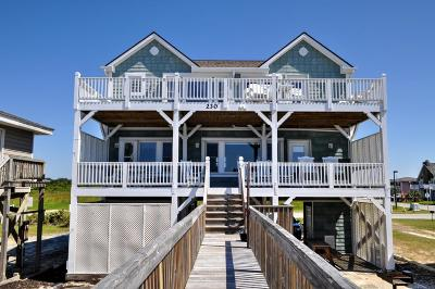 Holden Beach Single Family Home For Sale: 230 Ocean Boulevard E