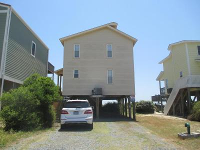 Holden Beach Single Family Home For Sale: 152 Ocean Boulevard E