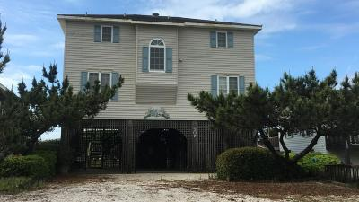 Holden Beach Single Family Home For Sale: 907 Ocean Boulevard W