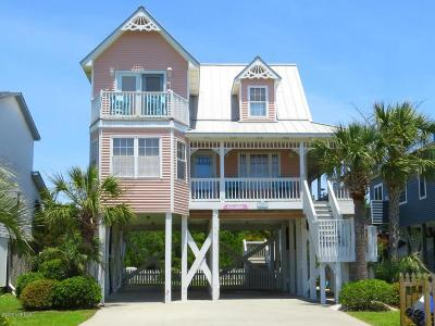Oak Island Single Family Home For Sale: 2616 E Dolphin Drive