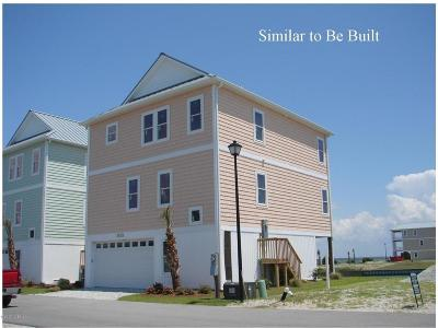 Topsail Beach Single Family Home For Sale: 928 Observation Lane #Pad 14