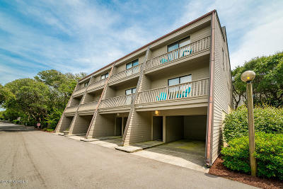 Pine Knoll Shores Condo/Townhouse For Sale: 545 Salter Path Road #E-1