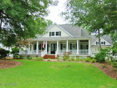 Southport Single Family Home For Sale: 5120 Fernwood Drive