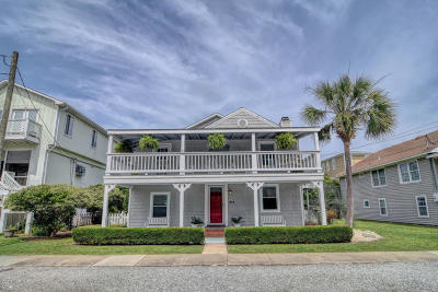 Wrightsville Beach Single Family Home For Sale: 213 N Channel Drive