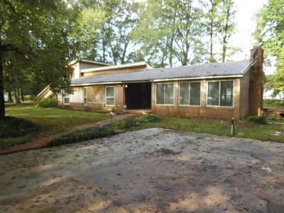 Onslow County Single Family Home For Sale: 123 Mill Pond
