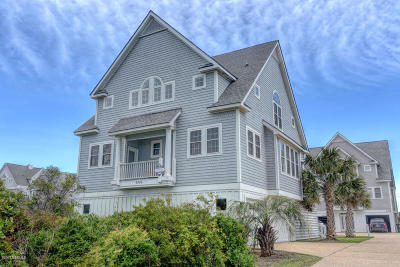 North Topsail Beach, Surf City (onslow) Single Family Home For Sale: 4348 Island Drive