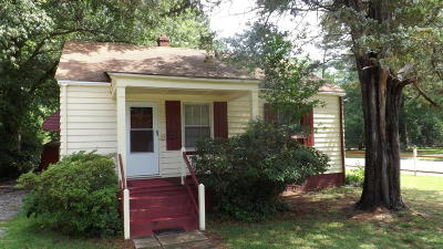 Edgecombe County Single Family Home For Sale: 1236 Hill Street