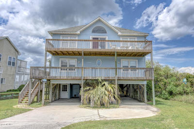 Onslow County Single Family Home For Sale: 1069 New River Inlet Road