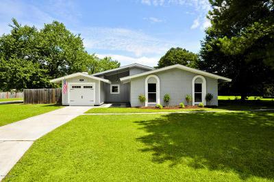Jacksonville Single Family Home For Sale: 404 Shamrock Drive