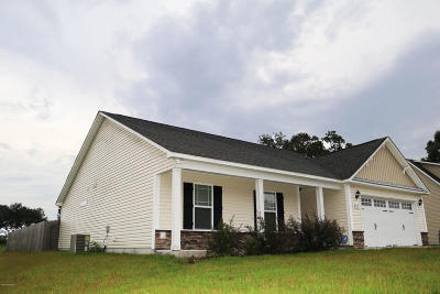 richlands Single Family Home For Sale: 221 Long Neck Drive