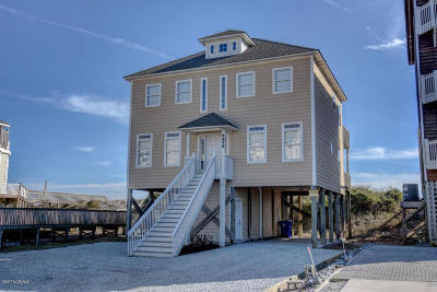 North Topsail Beach, Surf City (onslow) Single Family Home For Sale: 4476 Island Drive