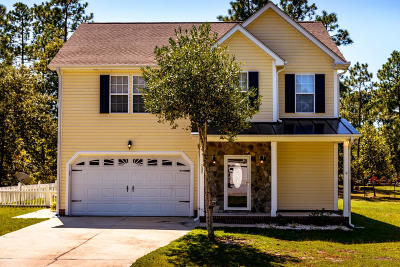 Cape Carteret Single Family Home For Sale: 122 Bobwhite Circle