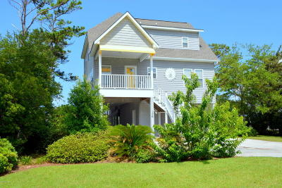 Harkers Island NC Single Family Home For Sale: $650,000