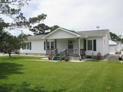Harkers Island Manufactured Home For Sale: 115 Diamond City Drive