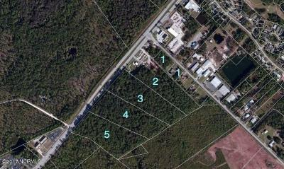 Leland, Castle Hayne, Wilmington, Hampstead Residential Lots & Land For Sale: Lot A Hwy 17