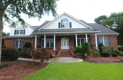 Hampstead Single Family Home For Sale: 414 W Windward Landing Place