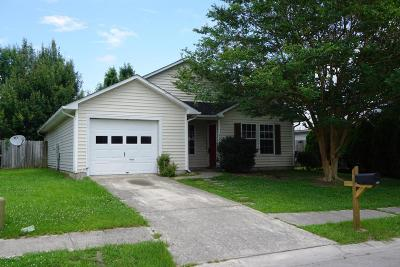 Onslow County Single Family Home For Sale: 3103 Belmont Court