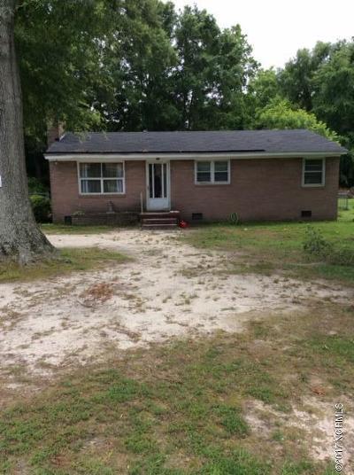Battleboro Single Family Home For Sale: 5121 Gainor Avenue