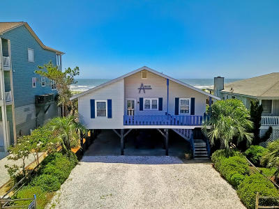 Ocean Isle Beach Single Family Home For Sale: 238 E First Street