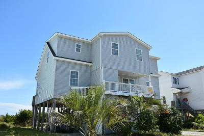 Holden Beach Single Family Home For Sale: 373 Ocean Boulevard W