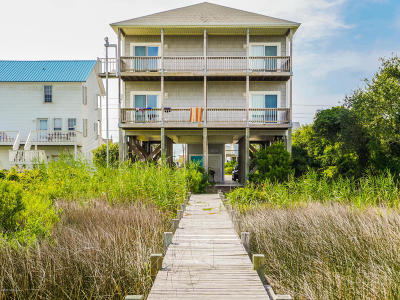 Surf City Condo/Townhouse For Sale: 1227 N New River Drive #A