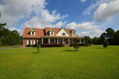 Swansboro Single Family Home For Sale: 125 Plantation Drive