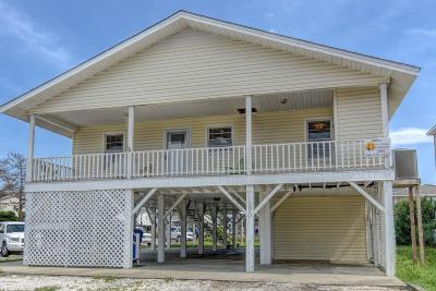 Ocean Isle Beach Single Family Home For Sale: 120 E Second Street