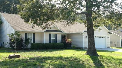 Swansboro Single Family Home For Sale: 317 Clam Digger Court