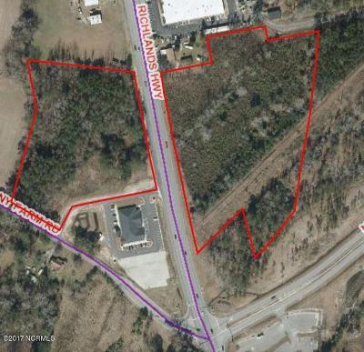 Jacksonville Residential Lots & Land For Sale: 3983 Richlands Highway