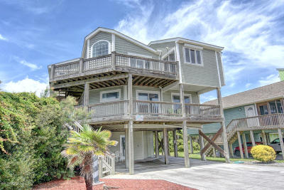 North Topsail Beach, Surf City (onslow) Single Family Home For Sale: 153 Topsail Road