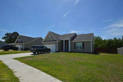 Swansboro Single Family Home For Sale: 255 Channel Marker Loop