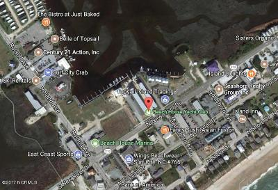 North Topsail Beach, Surf City, Topsail Beach Boat Slip For Sale: 111 N New River Drive #043