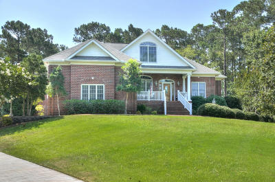 Southport Single Family Home For Sale: 4530 Marsh Wood Court SE